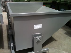 Picture of Forklift Tipping Rollover Bin 0.9m2